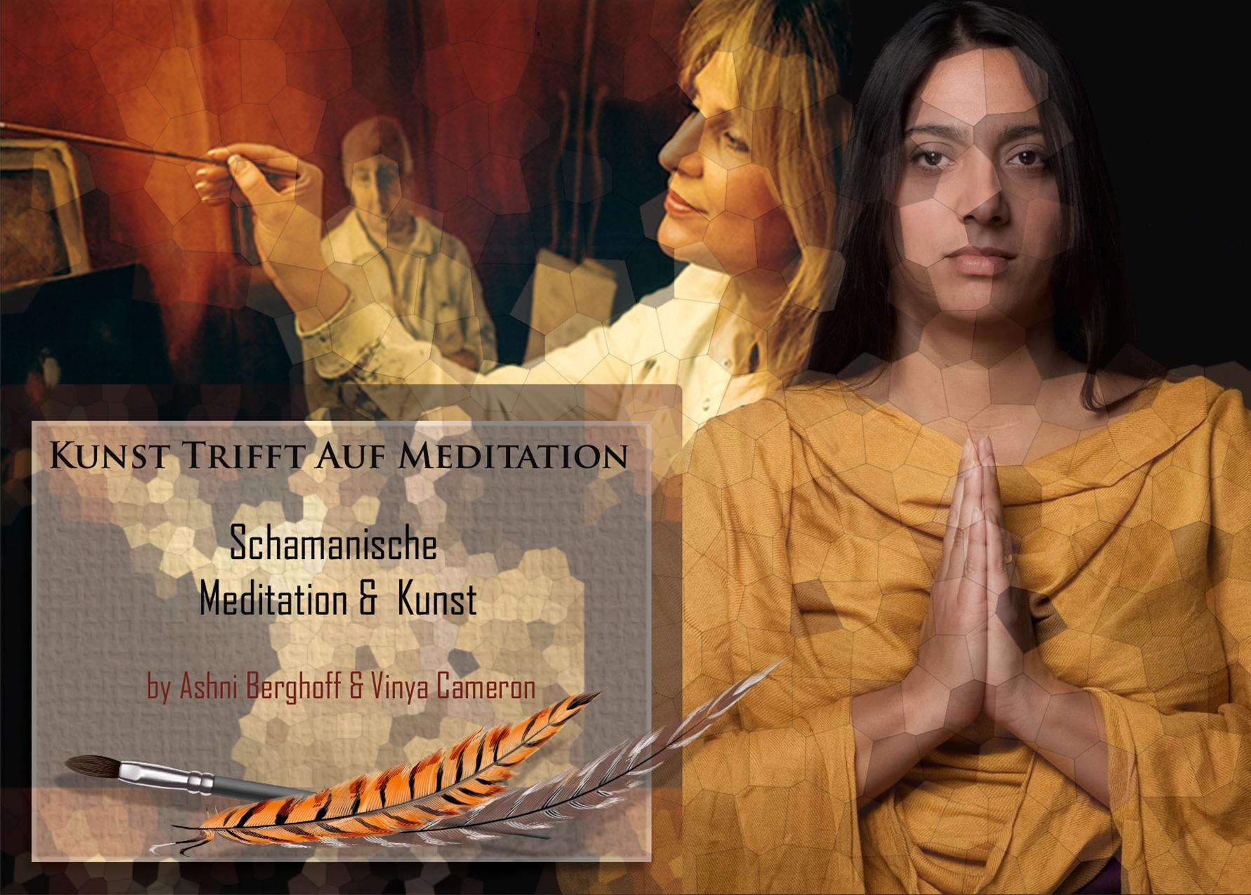Kunst trifft auf Meditation, 12.03.2017 im Nippeser Salon, Köln
