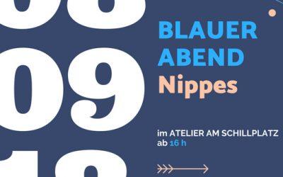 Blauer Abend & Konzert im Atelier