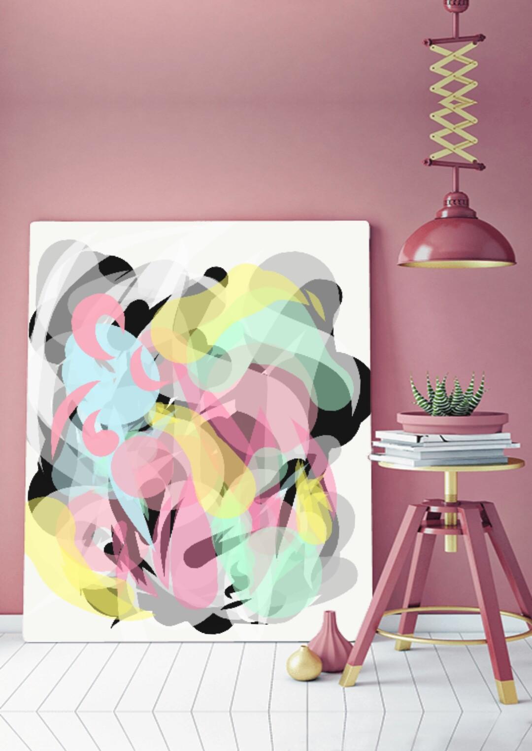Fine art print | Artwork by Vinya Cameron | Illustration no. 5 | 2018